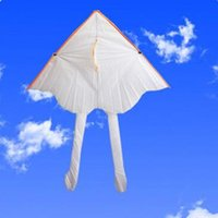 Wholesale Creative DIY kite coloring Blank hand painted children s cartoon kite Single Line Novelty Kites Children s Toys Large Size Shape A