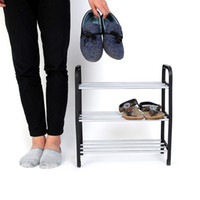 shoe stand - Easy Assembled Light Tier Shoe Rack Shelf Organizer Stand Holder Keep Room Neat Home Door Space Saving
