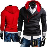 Wholesale Cheap Designer Hoodie - Cheap! 2015 New Arrival Spring&Autumn Men Fashion Designer Brand Hoodies Sweatshirts Casual Sports Male Hooded Jackets Slim Fit