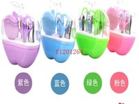 Wholesale in Fashionable Style Apple Design Manicure Set Manicure Kits For Wedding Party Gift Favor sets
