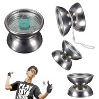 Wholesale Hot sale High Quality Professional Stainless Steel YoYo Ball Bearing String Trick Kids Toy Fun Gift