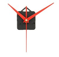 Cheap Quality Quartz Clock Movement Mechanism Parts Tool Set with Red Hands Silence