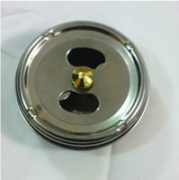 Wholesale 10pcs New Practical Stainless Steel Ashtray Lid Rotation Fully Enclosed Totally enclosed self quenching function FREESHIPPING HY706