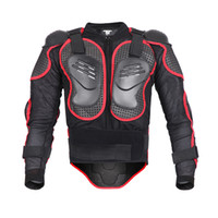Wholesale New Moto armors Motorcycle Jacket Full body Armor Motocross racing motorcycle cycling biker protector armour protective clothing Black Red