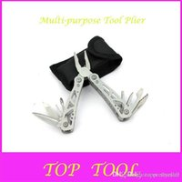 Wholesale Outdoor Products Multi purpose Tool Plier Small Size Multi Function Combination Folding Pliers D699 A2