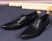 comfortable formal shoes - 2015 New Men s Crocodile Style Cowhide Genuine Leather Formal shoes Male Soft Comfortable Footwear Dress Shoe Large size