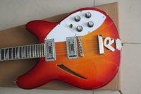 al por mayor string musical instrument-nueva! 360 12 cuerdas Guitarra Modelo Ric 12V69 sunburst Instrumentos Musicales guitarra eléctrica de China