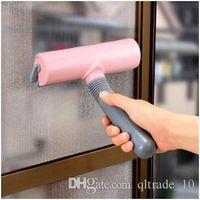 auto wipers - 500pcs LJJC2630 Glass Cleaner Window Cleaning Scraper Brush Car Auto Windshield Wash Clean Glass Window Water Dry Handy Brush Wiper Cleaner