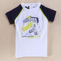 baby motorcycle clothing - summer Baby Boys Short Sleeve shirts O Neck Cotton Fashion print tee Motorcycle Size T T T T baby clothing
