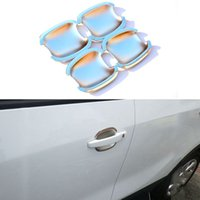 Wholesale 4Pcs Set Car Styling Door Handle Bowl Decoration Cover Frame ABS For Buick Opel Mokka Auto Accessories
