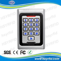 Wholesale Metal case User khz ID card rfid Standalone Access Controller reader with Keypad A5