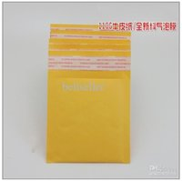 Wholesale 180MMx160MM quot x6 quot Yellow Kraft Paper Mail Envelope Bag PE Bubble Padded Envelopes Packing Bags Shipping Supplies Top Quality