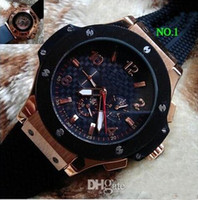 Wholesale Luxury Big popular mechanical movement Deluxe multi function luxury automatic mens Bang watch watches h16