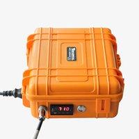 pelican - Black Orange Pelican Box Enail Dnail Enail Dnail Powerful Taitanium Nail With mm mm Heating Coil PID Temperature Contral Box