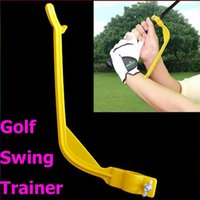 Wholesale 30PCS Golf Practice Plane Swing Guide Trainer Gesture Alignment Training Wrist Correct Aid Tool