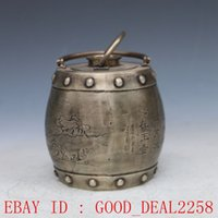 antique metal teapots - Old Antique Silver Copper Hand carved character Teapot