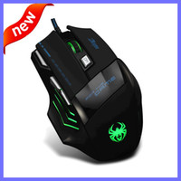 Wholesale 2016 New Original Brand DPI Professional Gaming Mouse HI Quality USB Wired Game Mouse For PC Computer Desktop Laptop