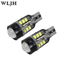 audi lens - High Power W W16W T15 Canbus Error Free Led Light COB SMD Projector Lens Car Led Light For VW Audi BMW