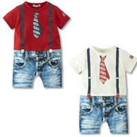 Cheap 2014 summer rompers Best baby boys girls jumpsuit