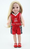american doll kit - Super Cute Handmade Full Vinyl American Inch Girl Doll With Polo Shirt Just Like You Kit Ivy Today