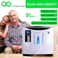Wholesale Oxygen therapy LPM shift home car charger portable oxygen concentrator concentrador de oxigen oxigenoterapia
