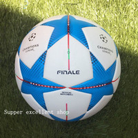 Wholesale 2012 European champion league Soccer ball PU size balls granules slip resistant football high quality football ball