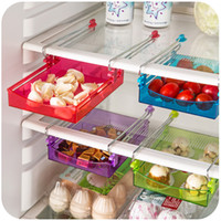 Wholesale Specials plastic storage drawers tic type stainless steel storage racks refrigerator spacer layer kitchen supplies store
