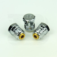Wholesale 3PCS New Paintball Airsoft Air Gun PCP HPA CO2 Tank Valve Burst Disk K Silver