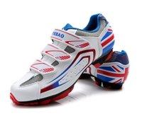 ¡Envío gratis! 2016 Tiebao Hombres Ciclismo MTB Zapatos Atlético Calzado deportivo bicicletas Auto-bloqueo de bicicleta de montaña Racing Zapatos
