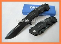 Wholesale High Quality OEM Cold Steel HY217 Pocket Knife Tactical Folding Knives Aluminum Handle Camping tool Best Gift