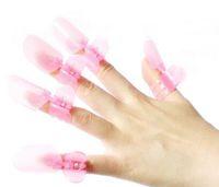 Wholesale Fashion Hot set Plastic Nail Art Soak Off Cap Clip UV Gel Polish Remover Wrap Tool Gofuly