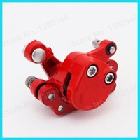49cc scooter - Red Front Brake Caliper For cc cc cc cc Gas Goped Scooter Mini Gas Electric Go Kart Motorcycle Motocross order lt no track