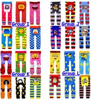 Wholesale 72pcs Spring Winter Baby Frozen Busha Crochet PP pants Children christmas leggings cartoon Tights baby clothes Groups choose free