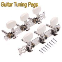 Wholesale 2pcs set Classical Guitar Tuning Pegs Keys Machine Heads Tuner I50 Freeshipping