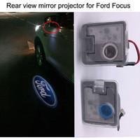 Precio de Definición de enfoque-Espejo retrovisor luz del logotipo del proyector para Ford Focus, EDGE, KUGA, MONDEO, EXPLORER, TAURUS