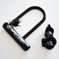 best steel bike - Black Steel Bicycle u lock Best Bicycle Lock U lock Plum type Lock cylinder OPP Package Bike keys