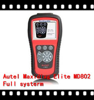 airbag - 2015 price OBD2 scan tool Autel s new MaxiDiag Elite MD802 Full systems