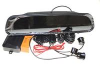 backup tracks - Car Backup Reversing Radar Rearview Mirror parking system Parking sensor Rearview Mirror Parking Sensors set order lt no track