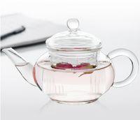 teapots - Glasss teapot Tea Sets Heat resistant glass Tea Set For Make Flower Tea And Coffee