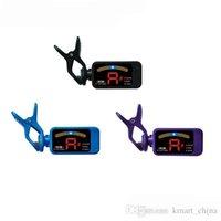 Wholesale LED Chromatic ukulele guitar bass Digital tuner afinador parts accessory AT DHL Free