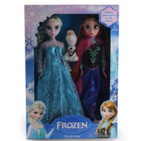 dolls - Frozen Anna Elsa olaf Toys Princess dolls Inch Nice kids Girls Birthday christmas Gift