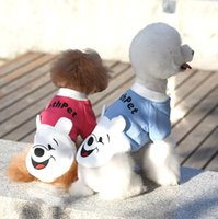 Wholesale Cute Pooh Clothing Pet warm winter clothes dog clothes pet feet clothing dog clothes Teddy clothes