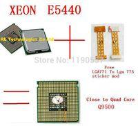 cpu processor intel - XEON E5440 CPU GHz MB MHz pieces adaptor free For Intel XEON E5440 Quad Core Server Processor