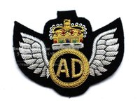 ads military - The new military badge embroidery metal spot AD CM