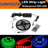 Wholesale Light Color Changeable Controller Power Supply IP65 Waterproof LED M SMD5050 RGB LED Strip Light