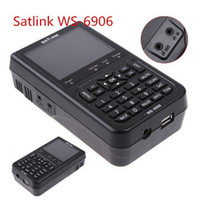 Wholesale Original Satlink WS quot DVB S FTA digital satellite meter satellite finder ws satlink ws6906