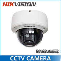 Wholesale Hikvision Multi language Smart Camera DS CD4132FWD I dB WDR Dome Full HD VF Lens IR POE IP Camera Indoor Updatable Smart Detection