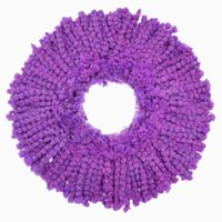 spin mop - 2015 New Household Purple Ultrafine Microfiber Mophead Replacement Refill For Magic Easy Spin Mop