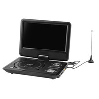 portable dvd - EU BLACK Newest inch Portable DVD EVD Player TV VCD CD MP3 SD USB GAME Mobile TV
