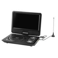 portable dvd player tv - EU BLACK Newest inch Portable DVD EVD Player TV VCD CD MP3 SD USB GAME Mobile TV